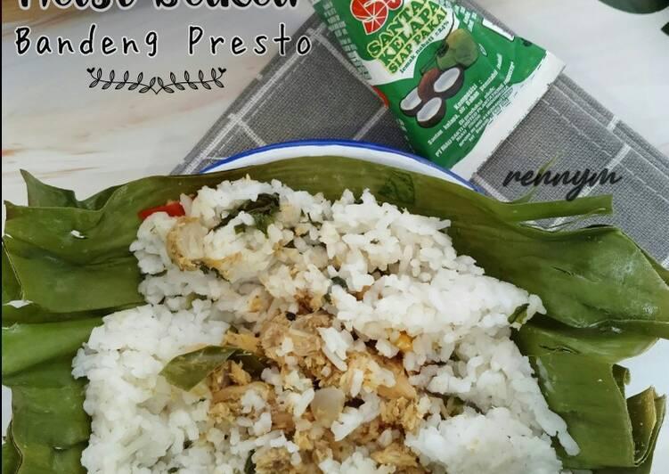 Nasi Bakar Bandeng Presto