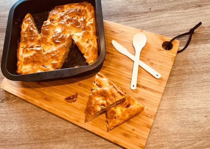 Cake chèvre et lardons