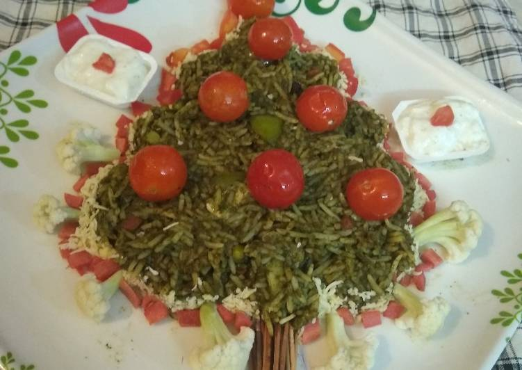 #Winter#Post-1#Green vegetable Pulav