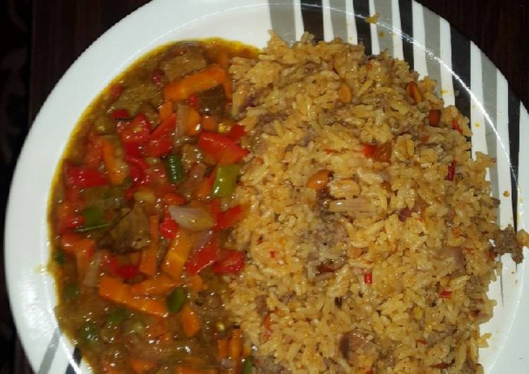 Arabian rice and curry soup Choosing Fast Food That's Very good For You