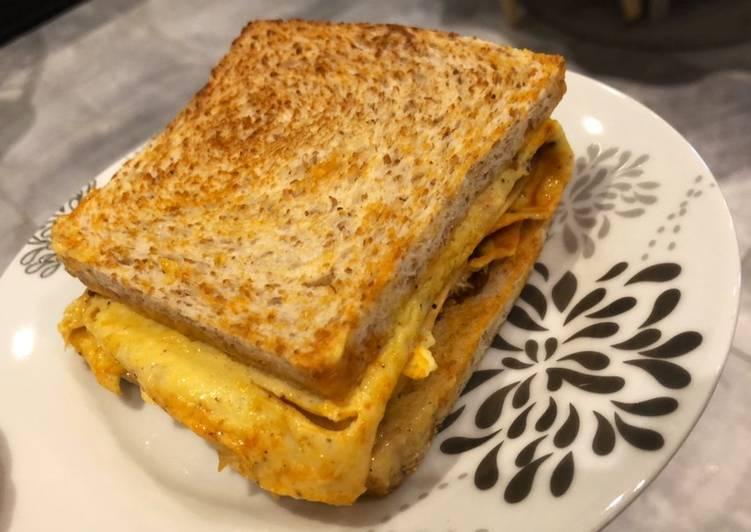 Comment Préparer Les Omelette sandwich