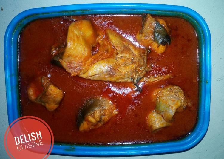 Recipe of Perfect Catfish soup!