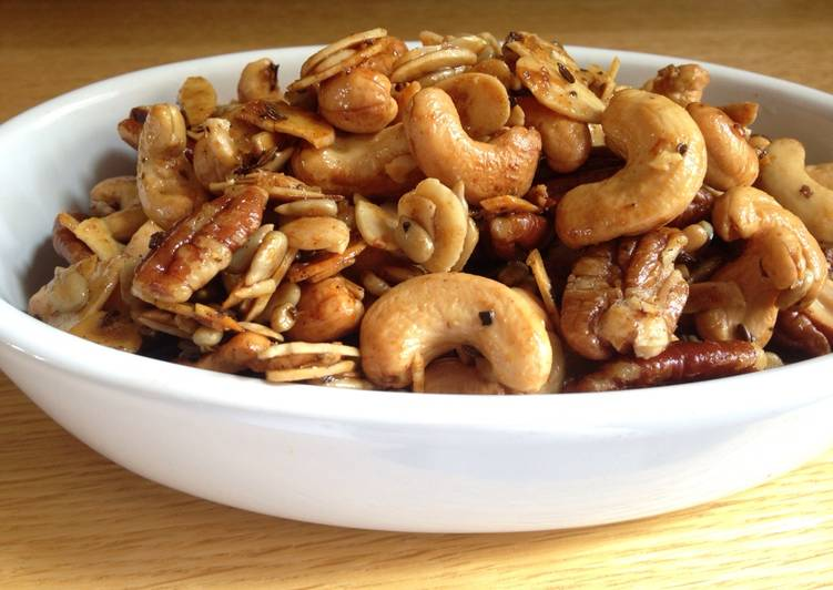 Easiest Way to Prepare Favorite Spiced Nuts