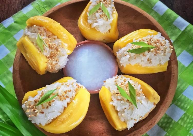 Ketan nangka ala Thai