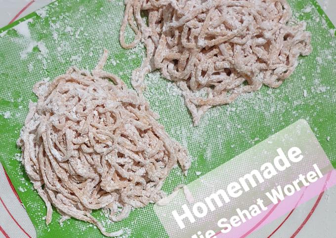 73. Homemade Mie Sehat Wortel