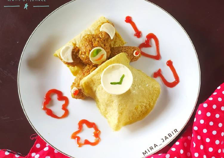 Bokkeumbap Kid with Omurice #120