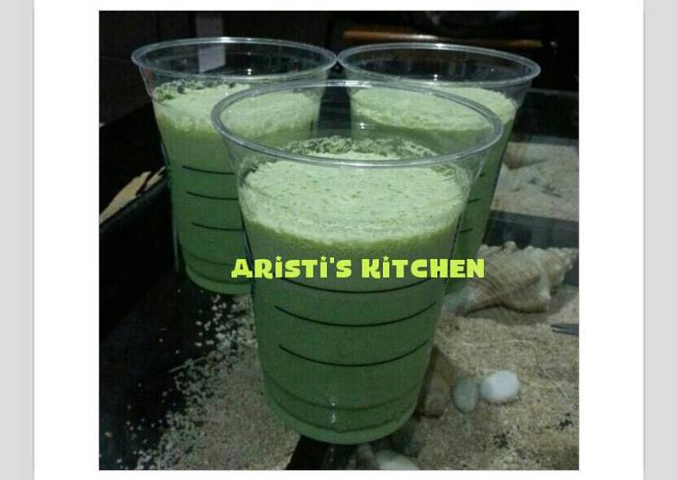 Homemade Green Tea Frappucino Starbucks KW