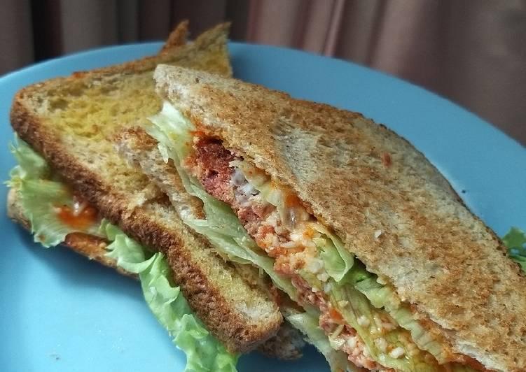 Resep Sandwich Kornet Keju Bikin Laper