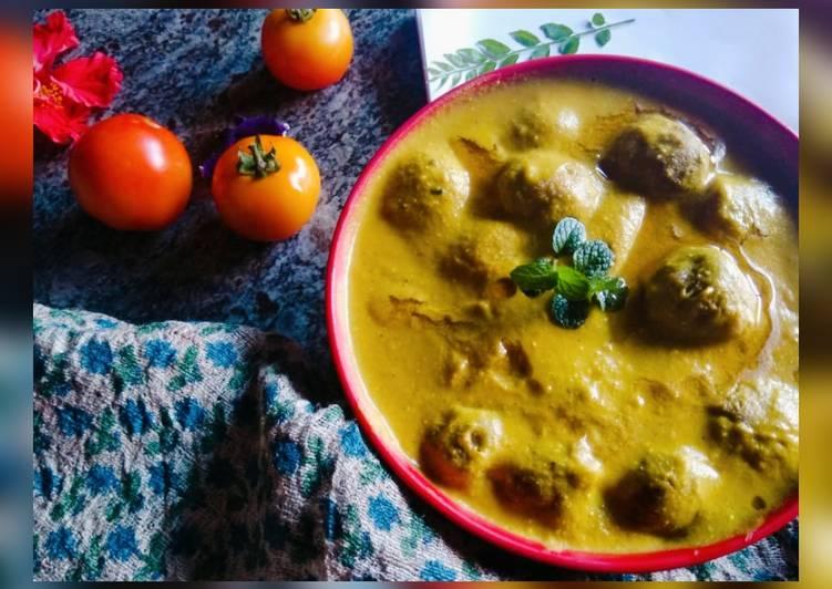 Recipe of Top-Rated Jackfruit kofta curry