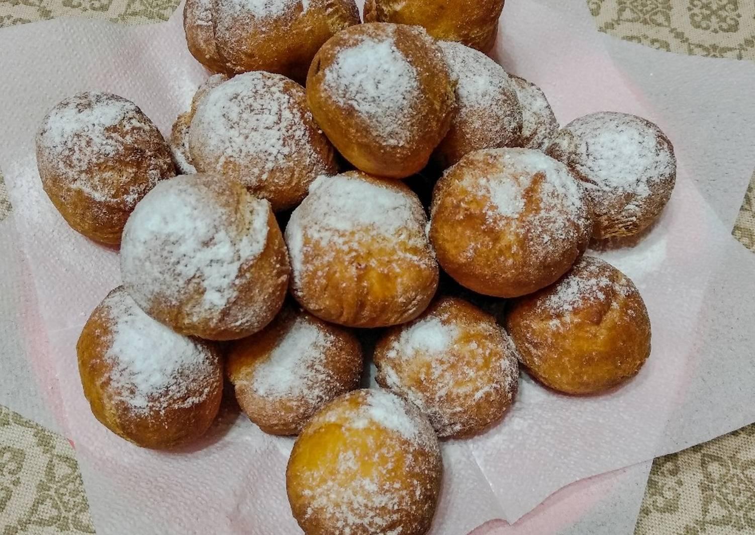 круглые пончики рецепт с фото замок