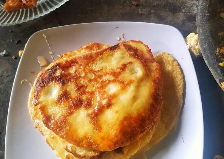 Pancake mudah sehat enak