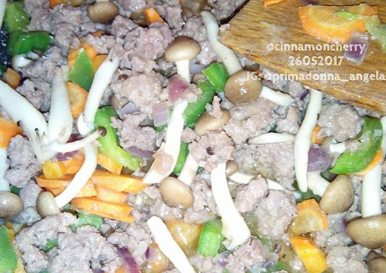 Colorful Minced Beef