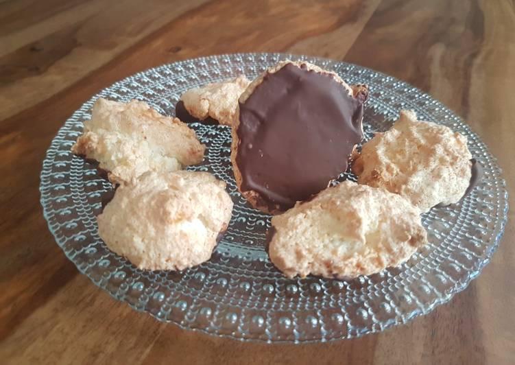 Rocher coco avec supplément chocolat