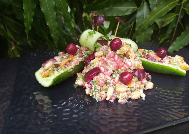 How to Make Super Quick Homemade Sprouted Peanut and Sprouted Sesame Salad