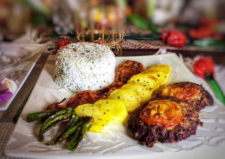 Peshwari chapli kabab