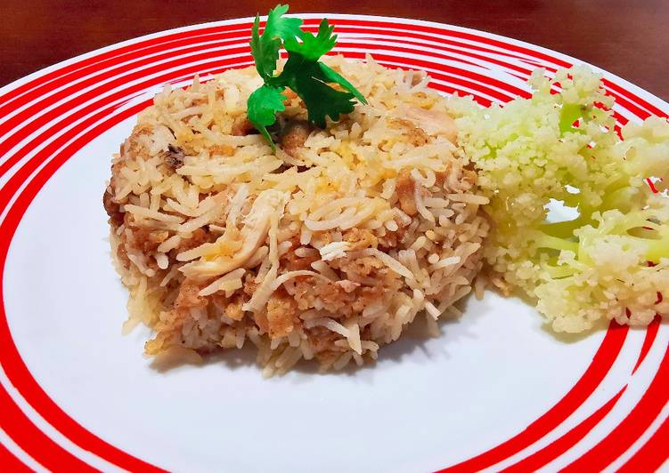肯德基雞飯 KFC CHICKEN RICE (INSPIRED BY DEVIL COOKED RICE)