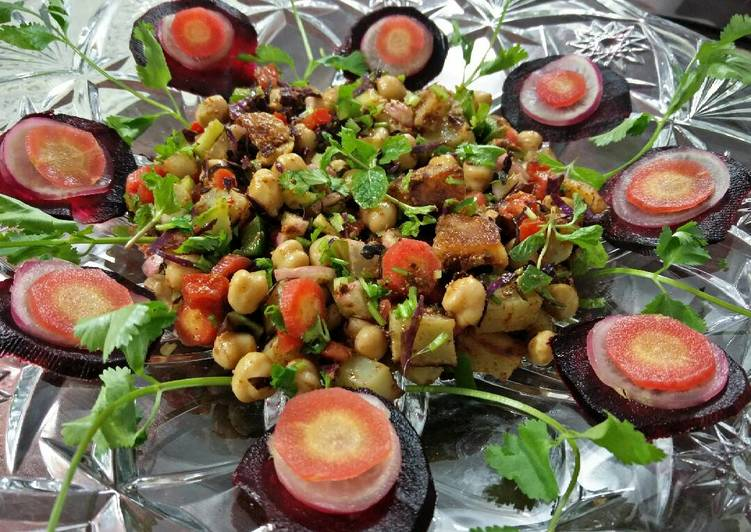 Step-by-Step Guide to Prepare Super Quick Homemade Healthy kabuli chana salad