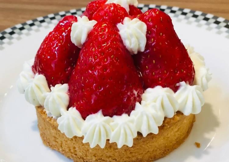 La Meilleur Recette De Tartelettes aux fraises et chantilly mascarpone