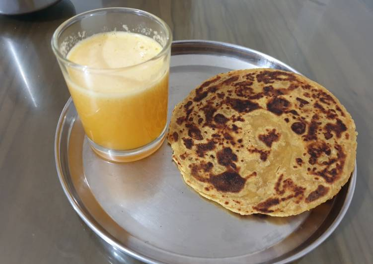 Steps to Prepare Ultimate Aloo paratha instant