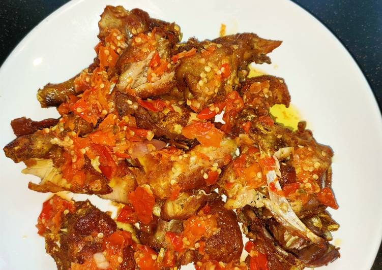 Ayam Kampung Geprek Jeletot