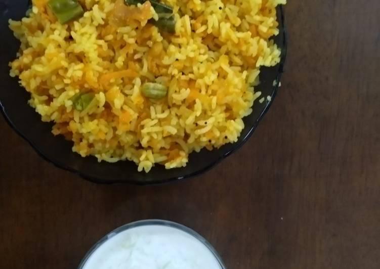Recipe: Perfect Carrot rice