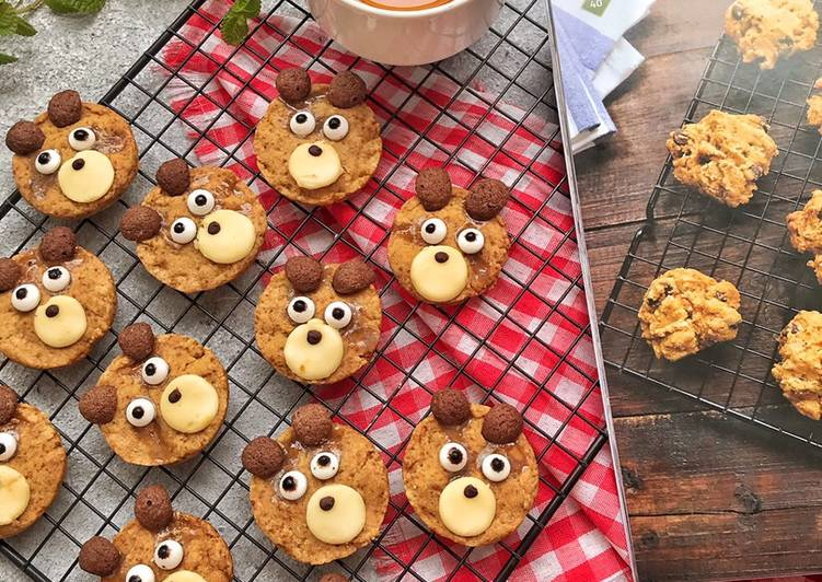 Character Peanut Butter Cookies