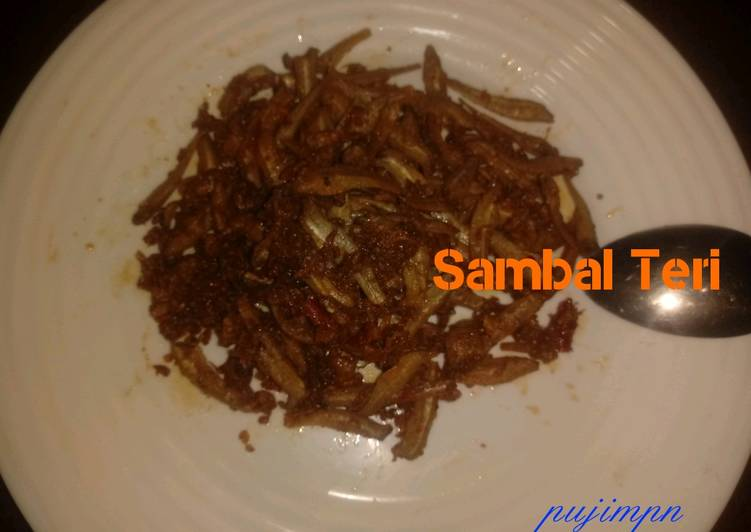 209. Sambal Teri...yummy