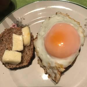 Huevo estilo huevo frito light