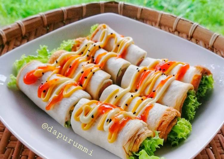 Resepi: Sushi Sandwich  Termudah