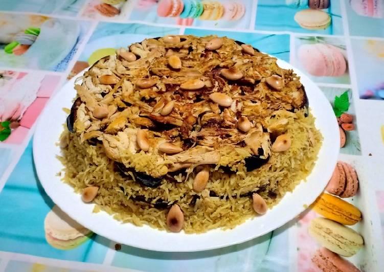 Meklouba au poulet