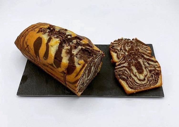 Recette Délicieux Zébra Cake