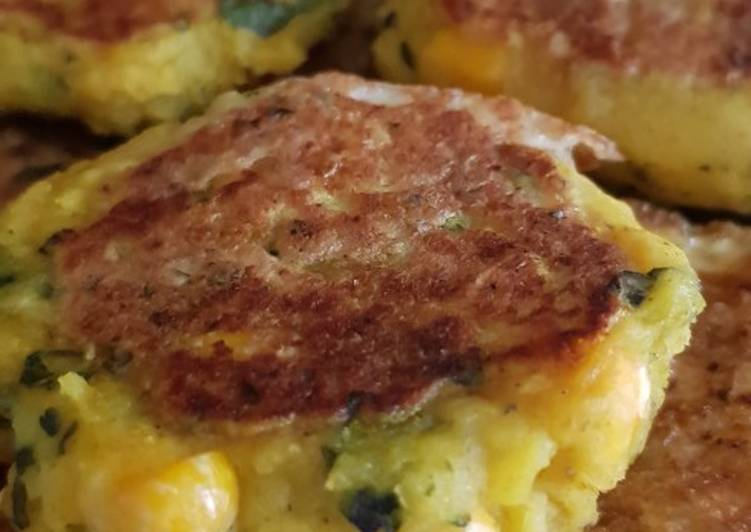 Top 10 Dinner Ideas Cooking Spiced sweetcorn potato cakes