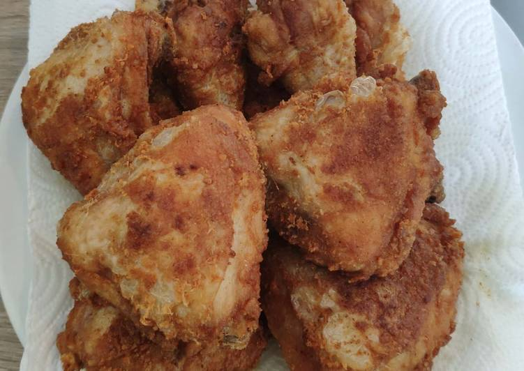 Paha Ayam Goreng Sederhana