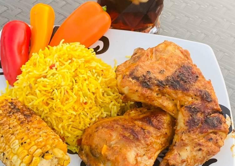 Recipe of Speedy Peri Peri Chicken
