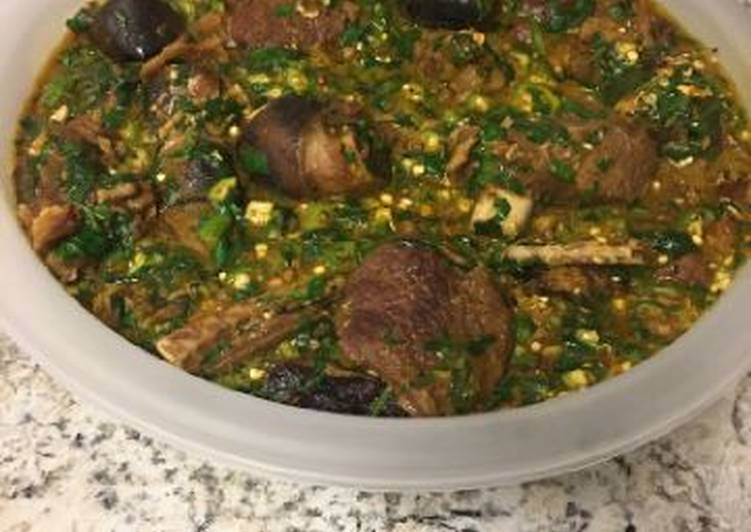 Steps to Make Perfect Okro soup with goat meat