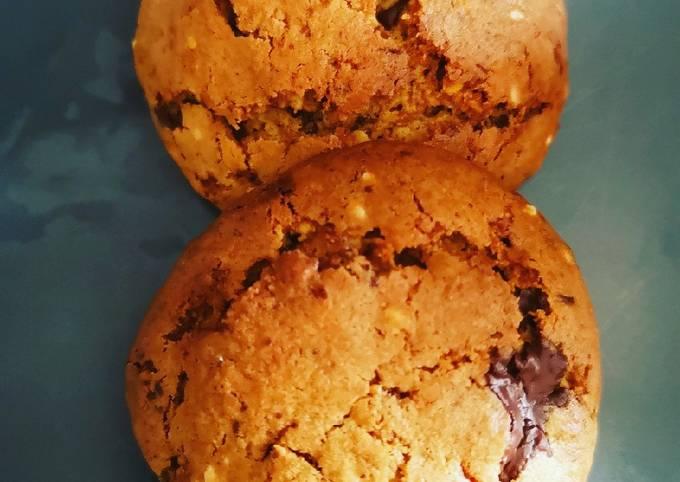 Cookies noisettes sésame