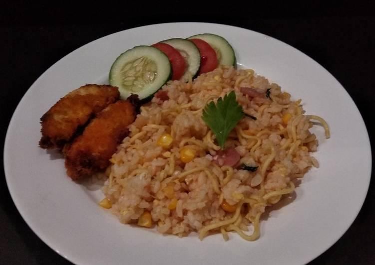 Nasi Goreng Mawut Simpel