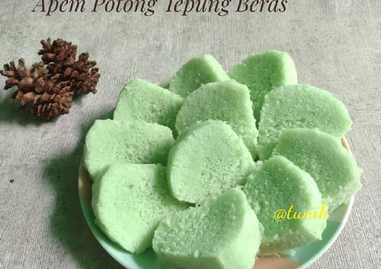 303. Apem PotongTepung Beras - ganmen-kokoku.com