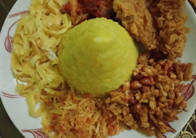 Nasi kuning no santan