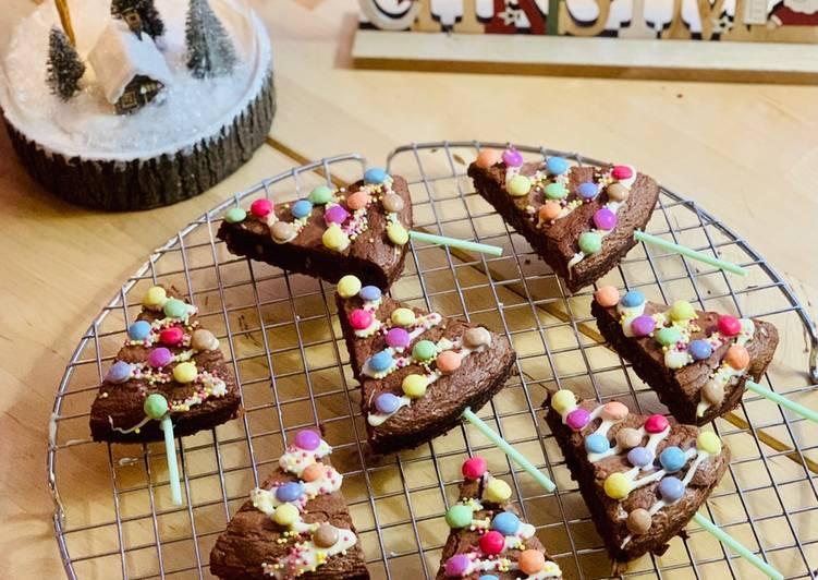 Brownie Sapin de Noël 🎄