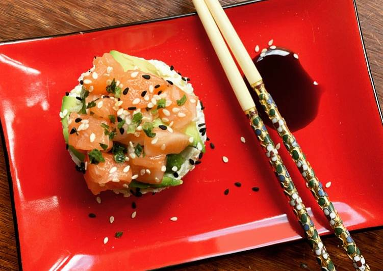 ☆Mini Sushi Cake au Fromage 🇯🇵☆