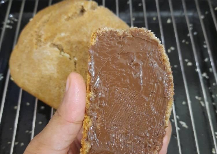Roti Gandum Sehat TANPA TELUR & SUSU