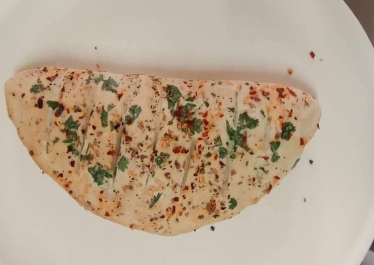 Homemade garlic bread 😋👍