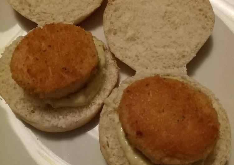 Simple Way to Prepare Ultimate Mini salmon burgers