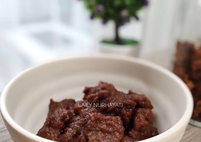 Rendang daging sapi #week38