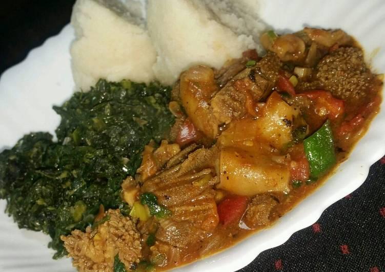 What is Dinner Ideas Autumn Ugali, Matumbo n Skuma wiki