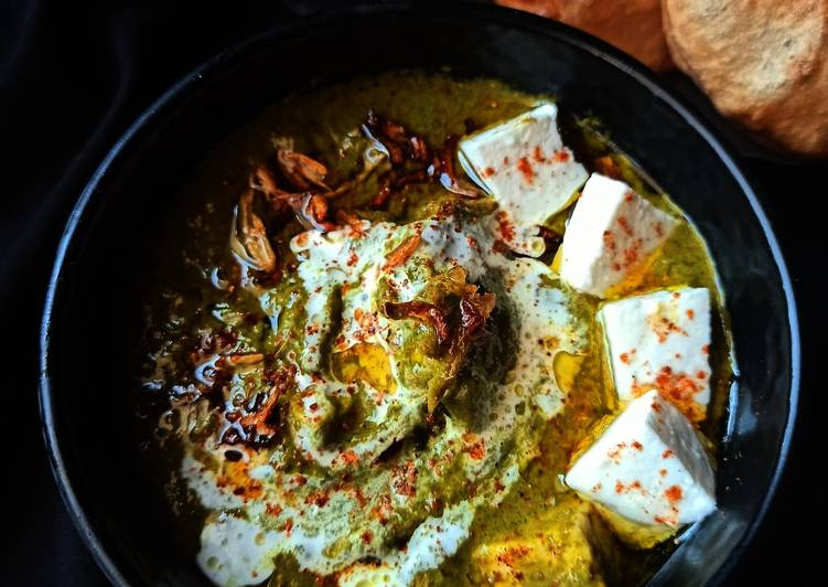 Step-by-Step Guide to Prepare Homemade Palak paneer
