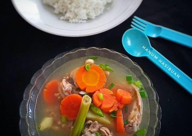Soup ayam sayur