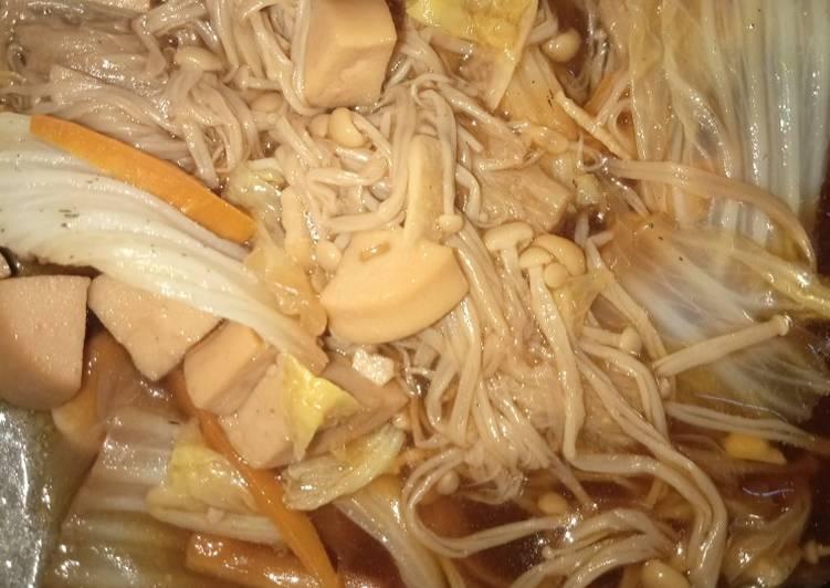 Tumis simpel jamur Enoki & Teman2nya 🤭
