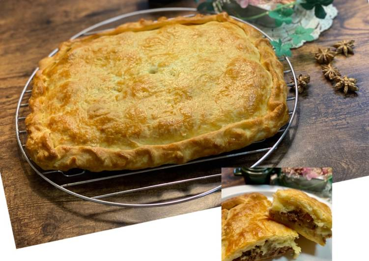 How to Make Award-winning Cheese Teriyaki Beef Pie